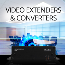 Video Switchers, Extenders & Converters