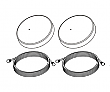 ClearOne Extension Antenna Kit with RG8 Plenum Cables (M500: 486 MHz to 512 MHz) 50 Ft.