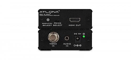 Atlona HD120 Composite Video and Stereo Audio to HDMI Video Format Converter and Scaler