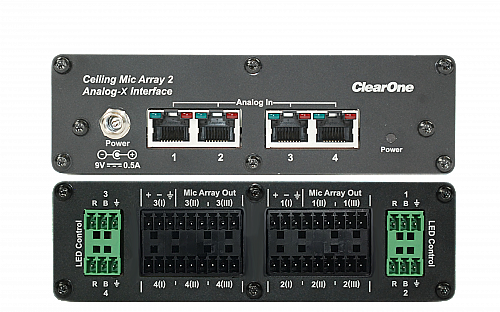 ClearOne Ceiling Microphone Array Analog-X Interface Box